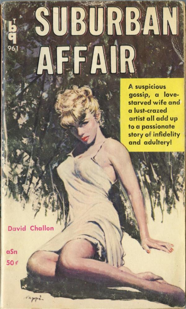 Bedside Books BTB 961 - Suburban Affair (1960)