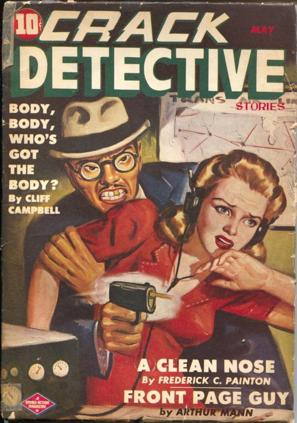 Crack Detective May 1944
