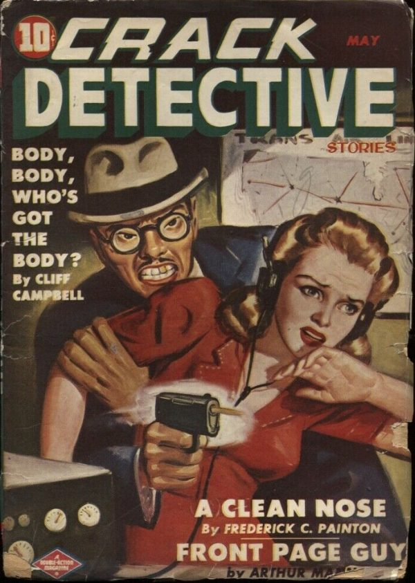 Crack Detective Stories, 1944 May