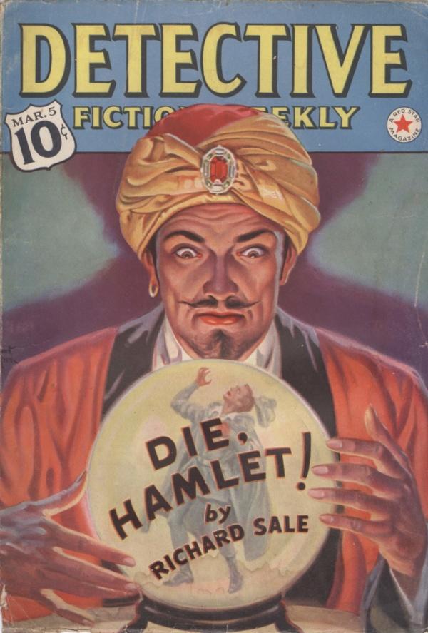 Detective Fiction March 1938