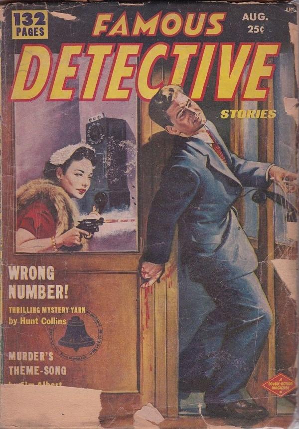 Famous Detective Stories August 1952