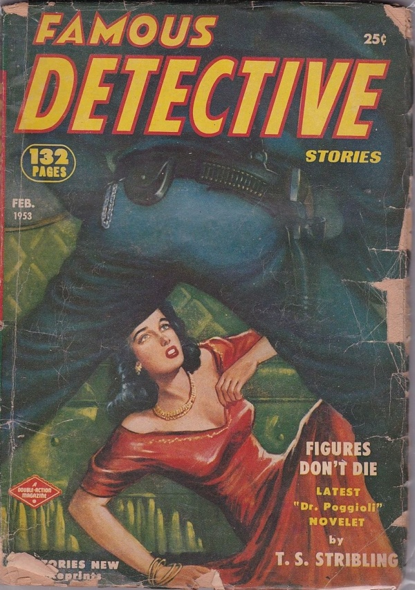 Famous Detective Stories February 1953