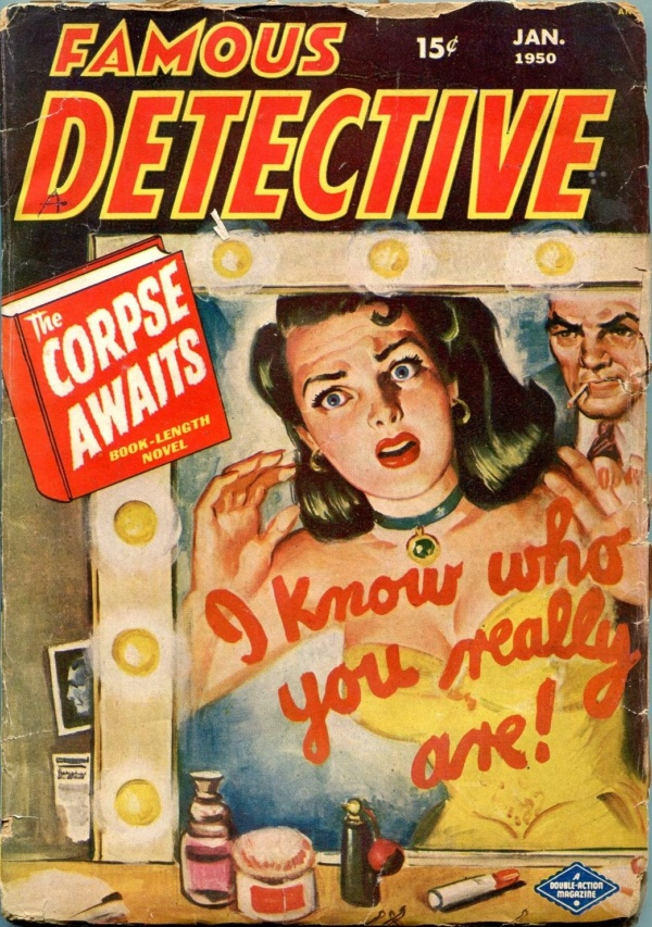 Famous Detective Stories January 1950
