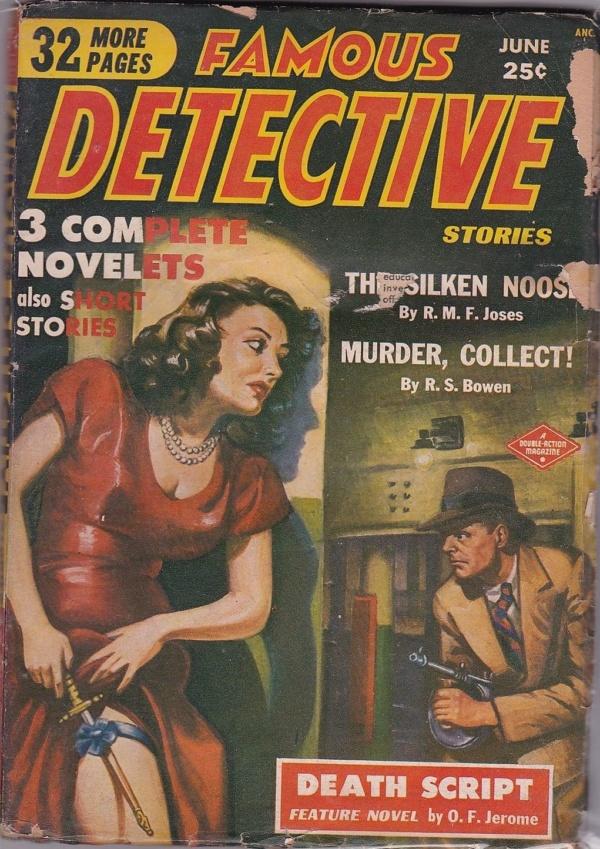Famous Detective Stories June 1950