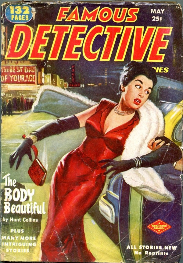 Famous Detective Stories May 1952