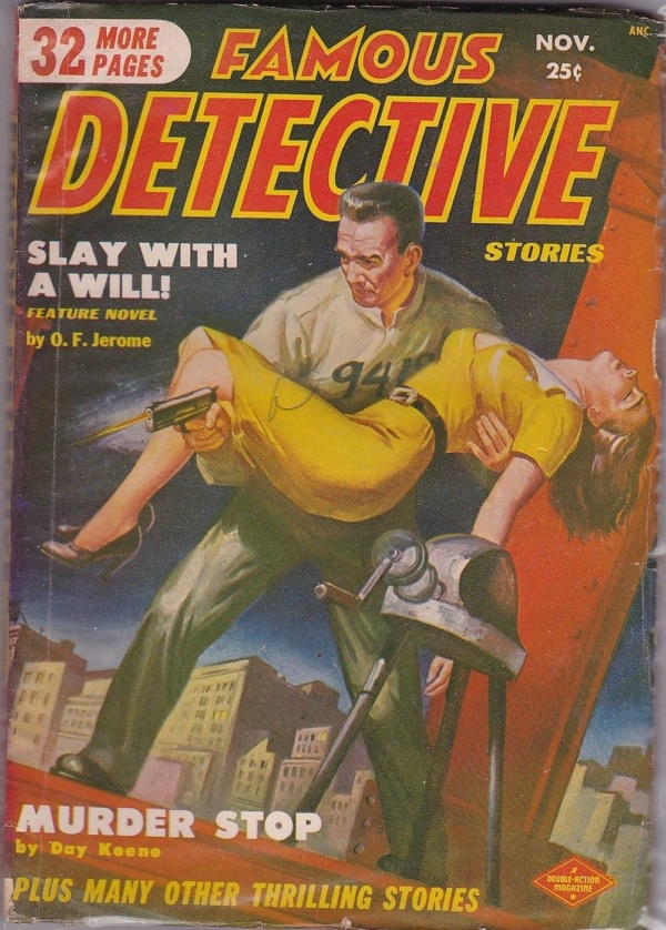 Famous Detective Stories November 1950