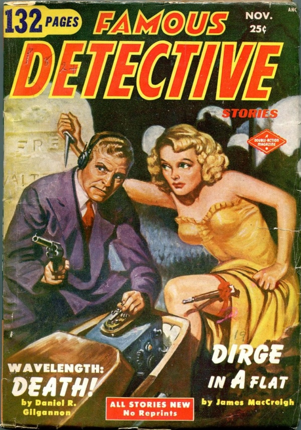 Famous Detective Stories November 1951