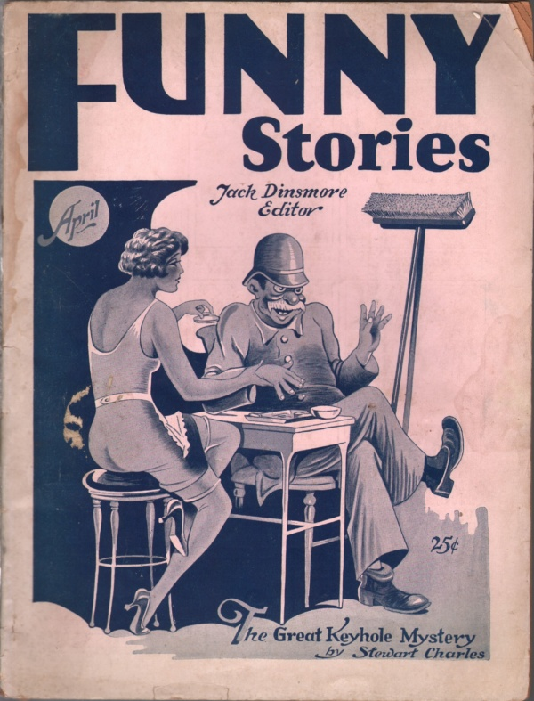 Funny Stories April 1929