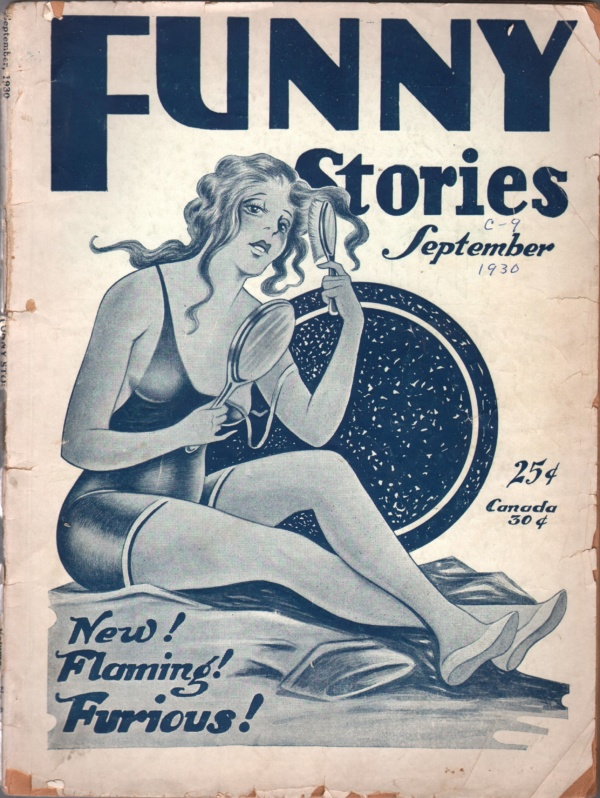 Funny Stories September 1930