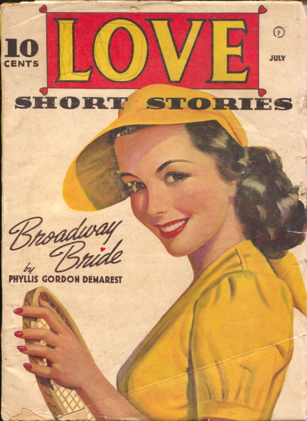 Love Short Stories July 1942