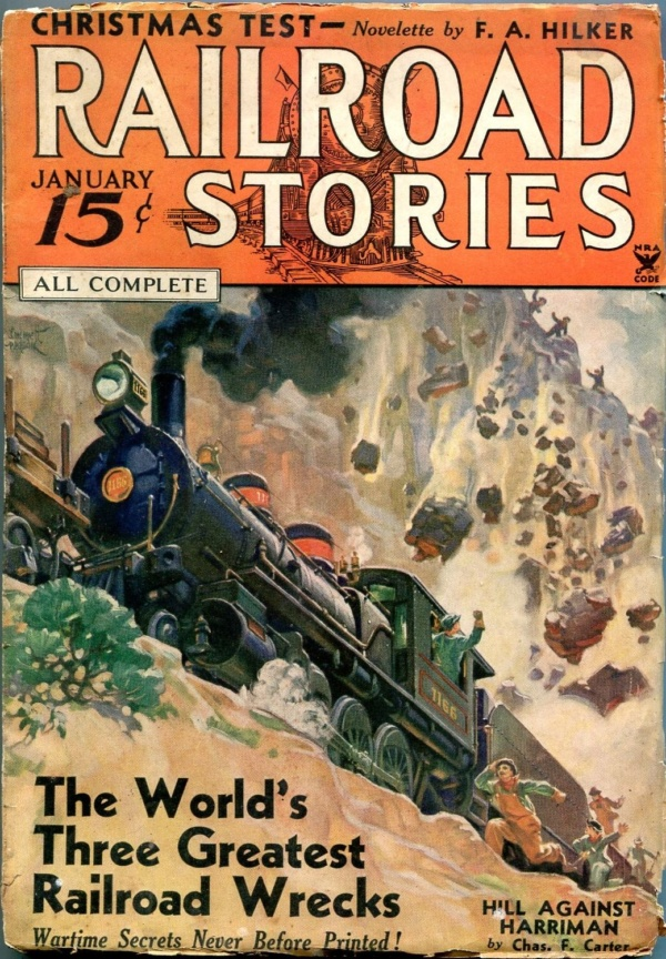 Railroad Stories January 1935