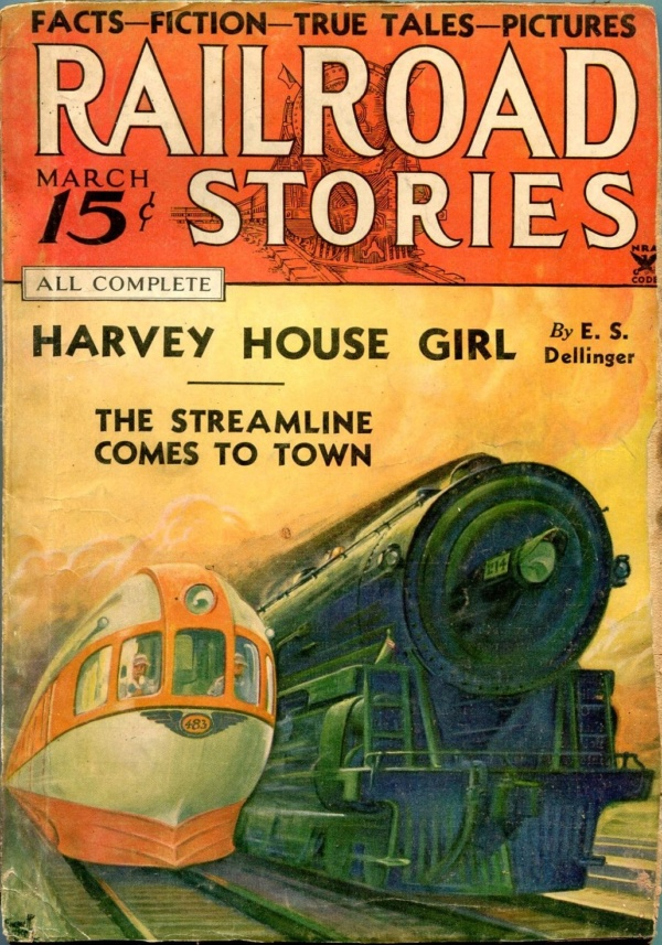 Railroad Stories March 1935