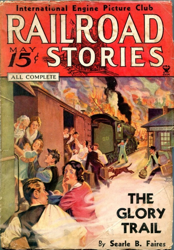 Railroad Stories May 1935