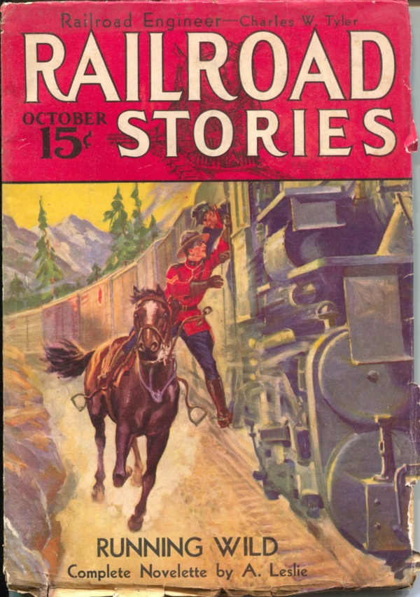 Railroad Stories October 1933