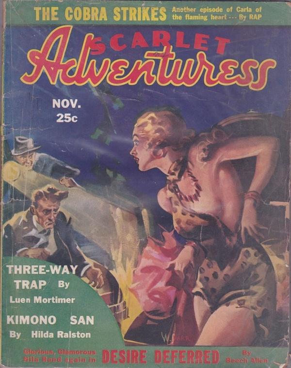 Scarlet Adventures November 1936