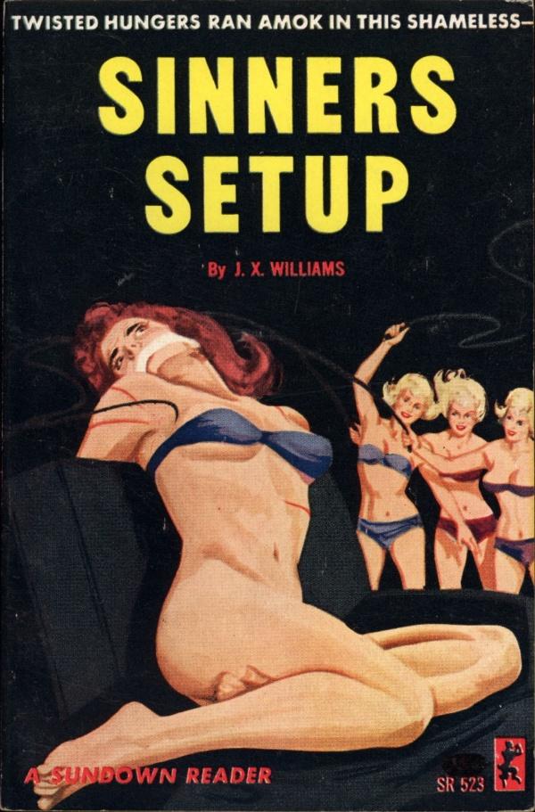 Sundown Reader SR523 - Sinners Setup (1964)