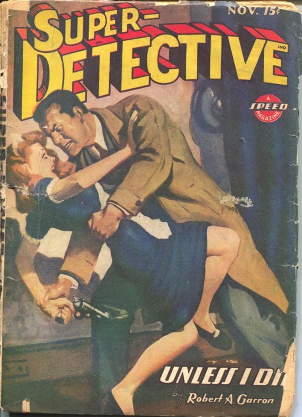 Super-Detective November 1944
