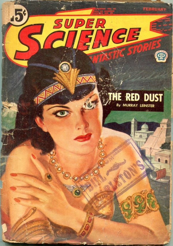Super Science Stories February 1945
