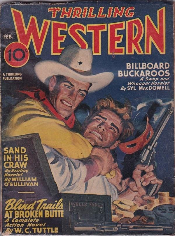 Thrilling Western February 1947