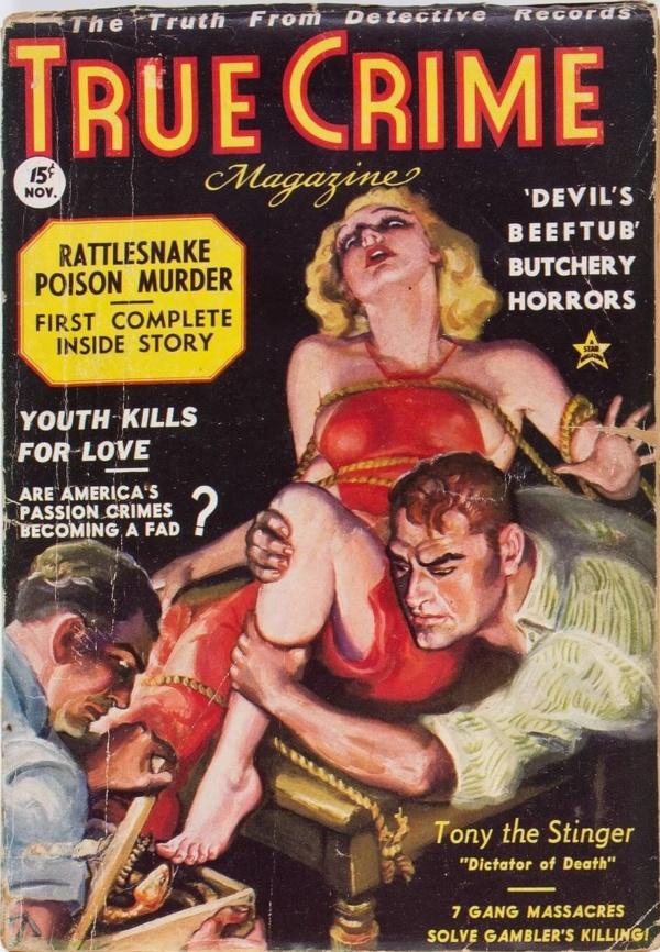 True Crime Magazine - November 1936