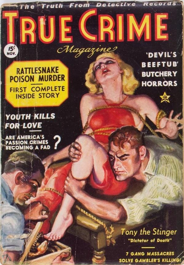 True Crime Magazine - November 1936