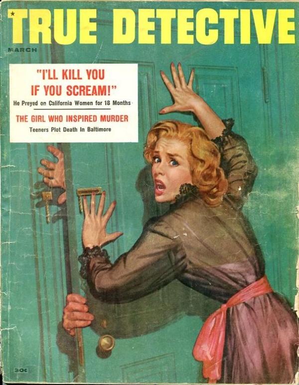 True Detective March 1957