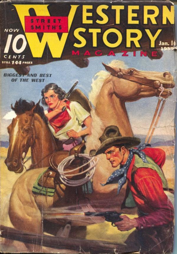 Western Story January 16 1937