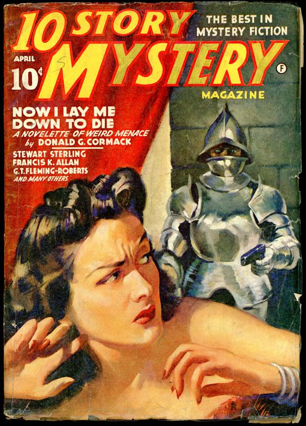10 STORY MYSTERY MAGAZINE. April, 1942