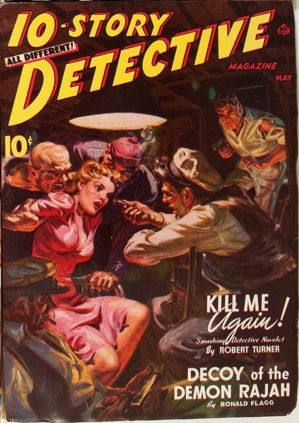 10-Story Detective Magazine, May 1941