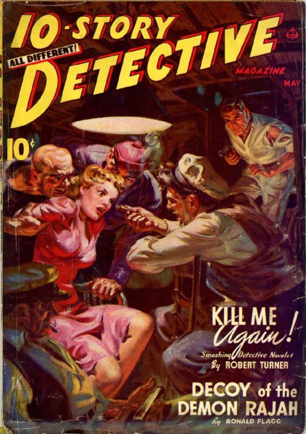10-Story Detective, May 1941