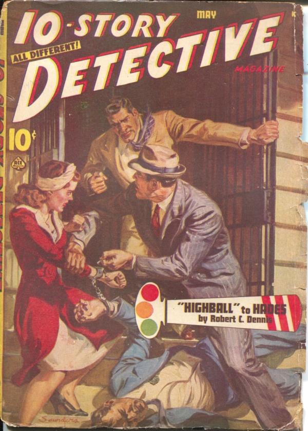 10-Story Detective May 1947
