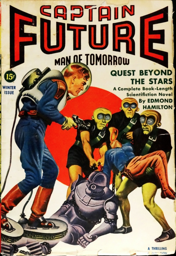 Captain Future Vol. 3, No. 3 (Winter, 1942)