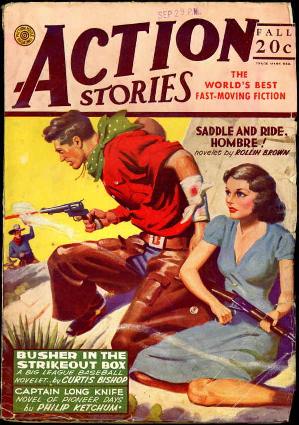 ACTION STORIES. Fall 1944