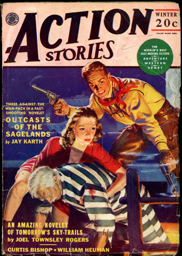 ACTION STORIES. Winter 1943