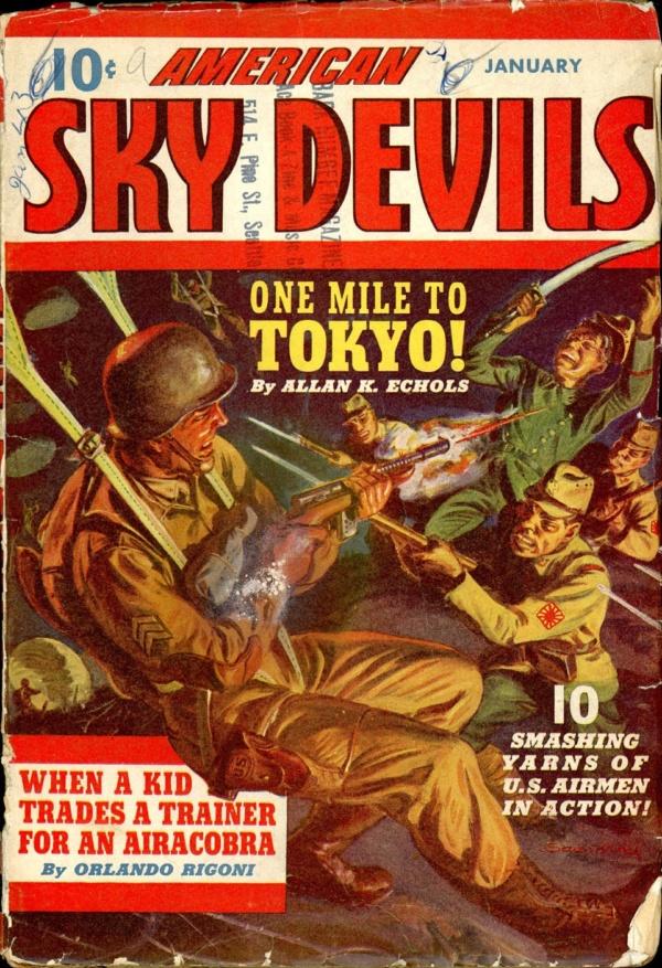 AMERICAN SKY DEVILS. January 1943