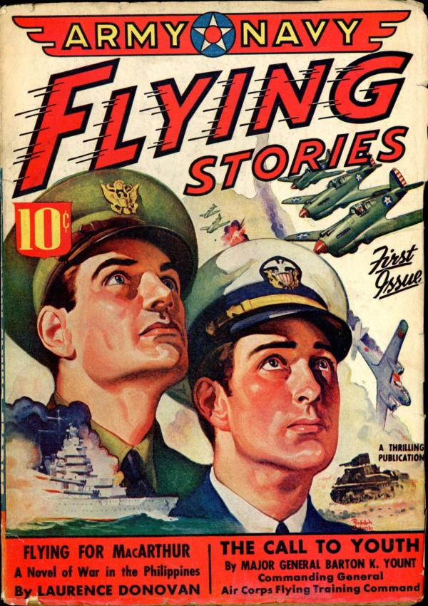 ARMY NAVY FLYING STORIES May 1942