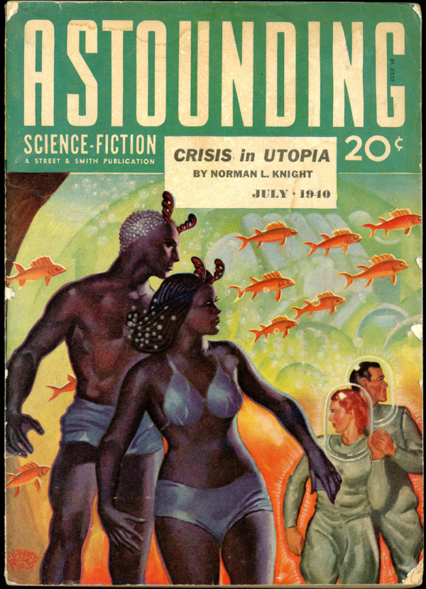 ASTOUNDING SCIENCE FICTION. July, 1940