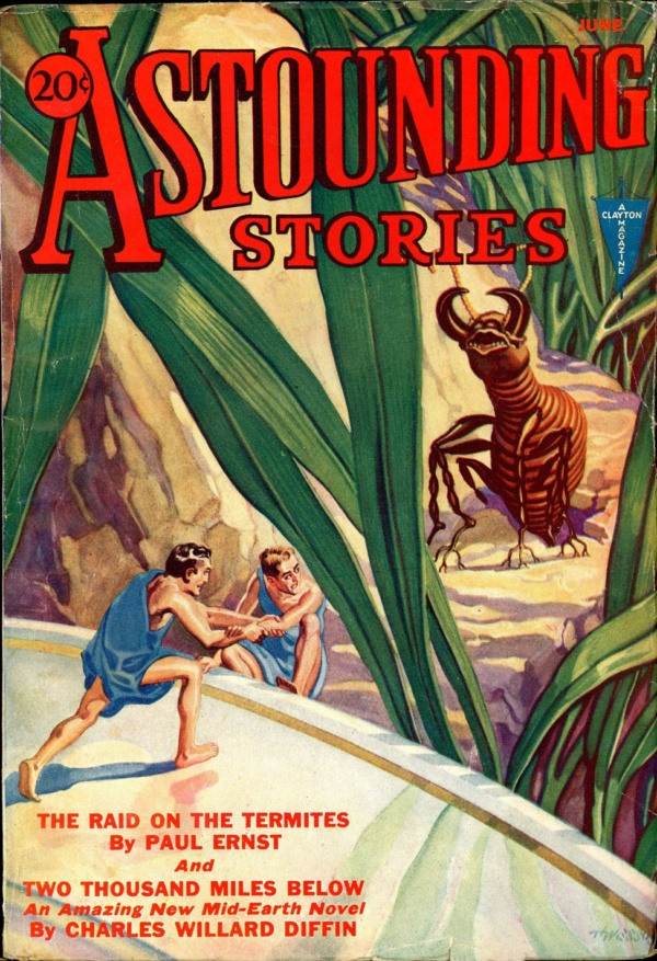 ASTOUNDING STORIES. June, 1932