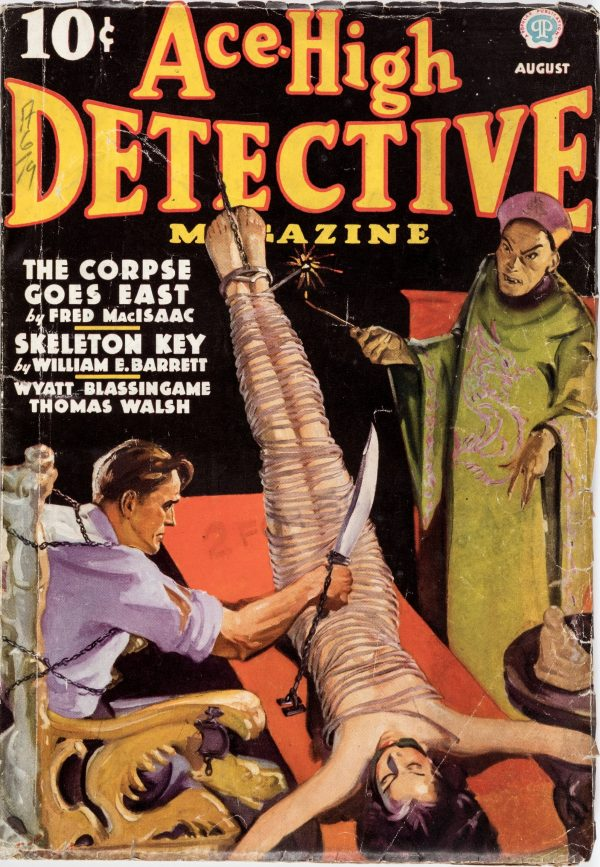 Ace-High Detective Magazine - August 1936