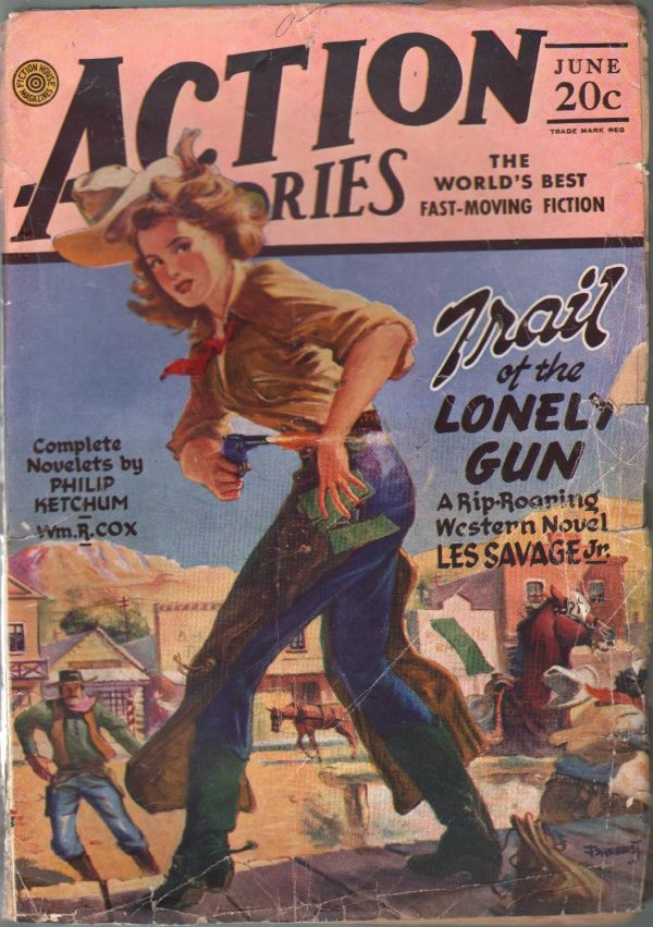 Action Stories June 1946