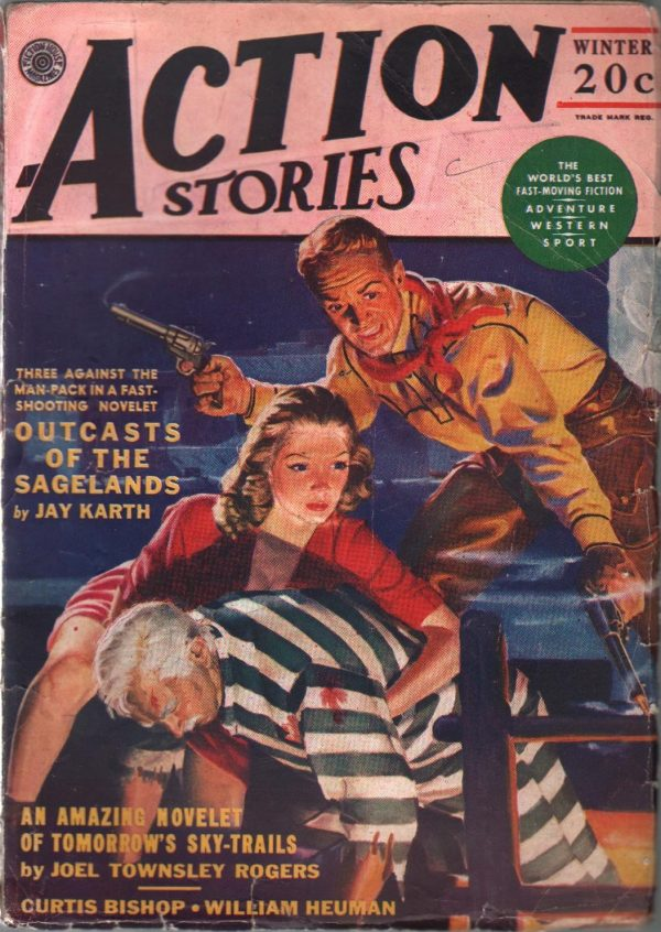 Action Stories Magazine Winter 1947