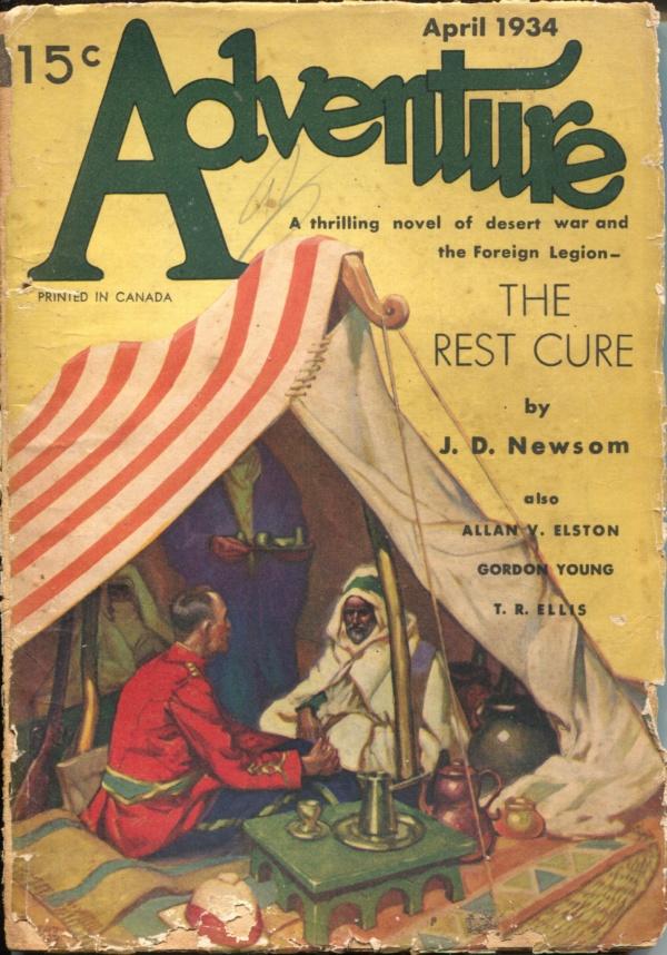 Adventure April 1934