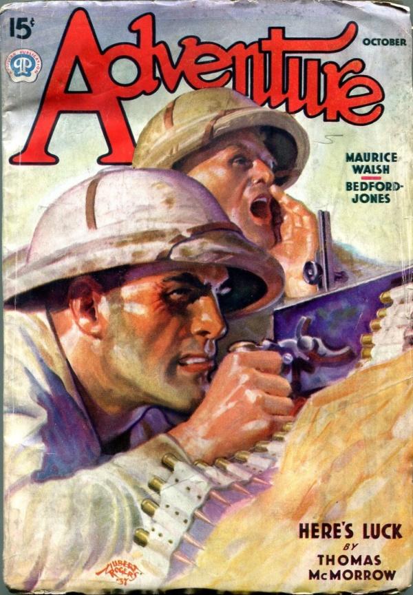 Adventure October 1937