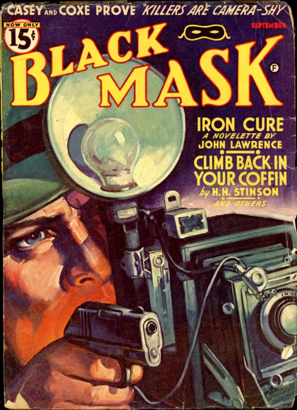 BLACK MASK. September 1941