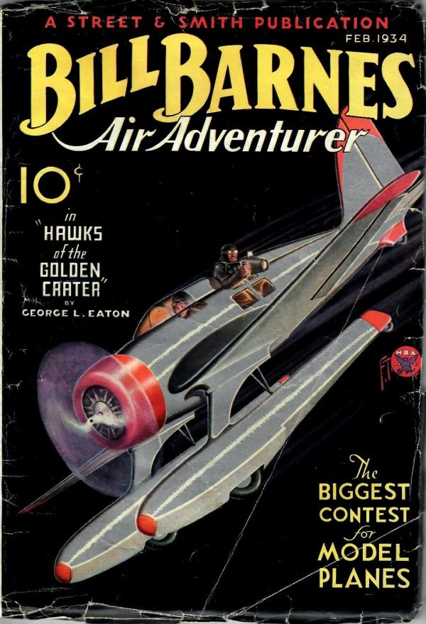Bill Barnes, Air Adventurer February 1934