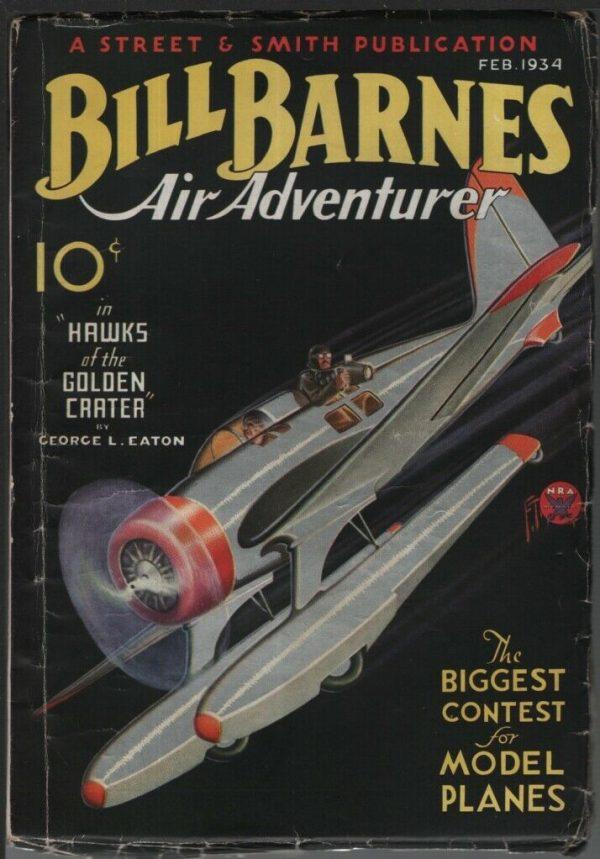 Bill Barns Air Adventurer 1934 February