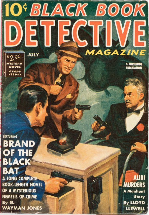 Black Book Detective - July 1939