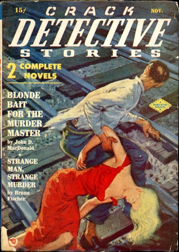 CRACK DETECTIVE STORIES. November, 1948