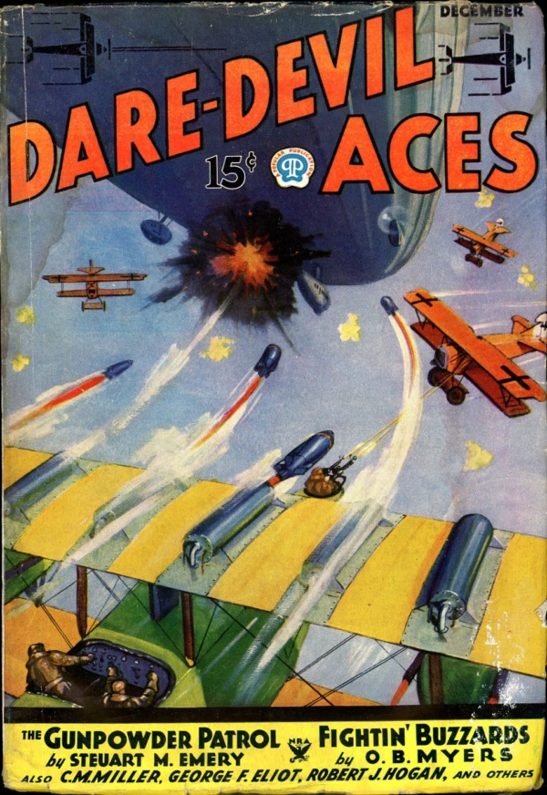 DARE-DEVIL ACES. December 1934