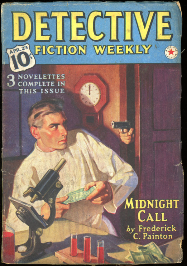 DETECTIVE FICTION WEEKLY. April 23, 1938